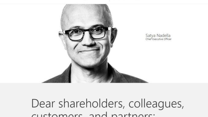 Satya Nadella - riaditeľ Microsoftu